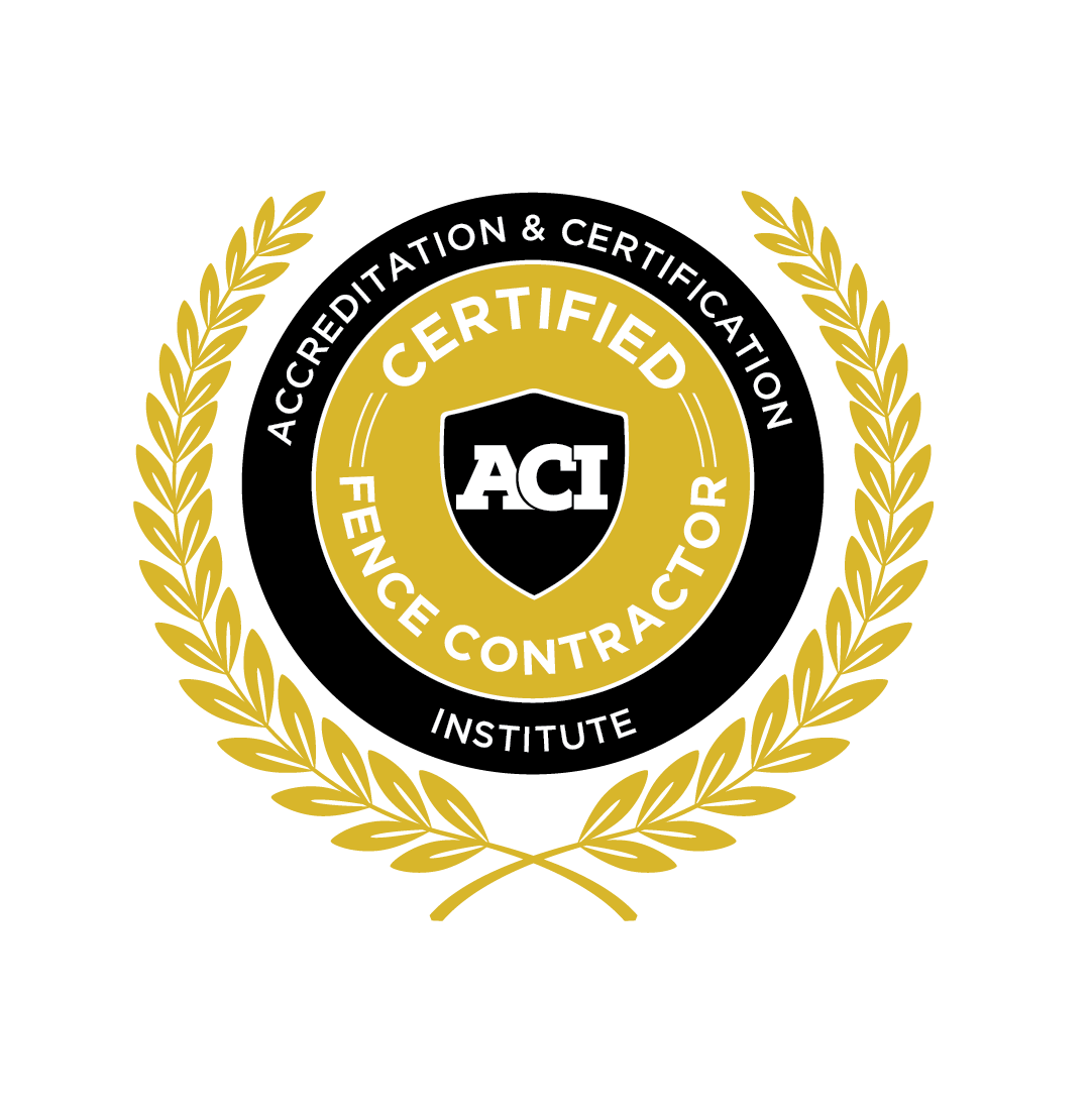 American Fence Association Certified Fence Contractor