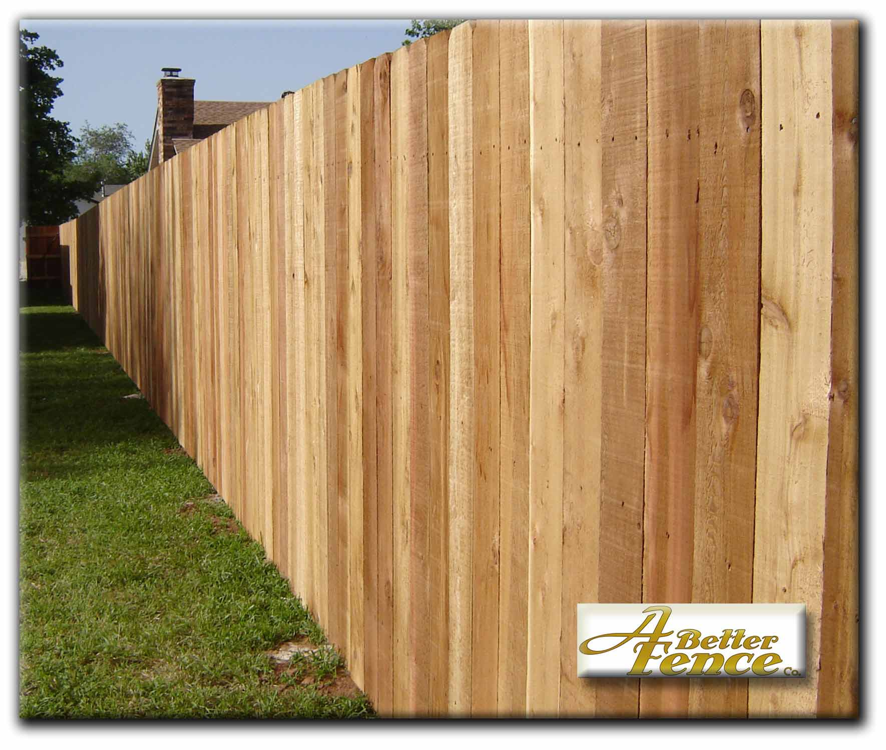 Wooden fence designs privacy fence designs 58 x 6 solid board western red cedar privacy fence workwithnaturefo
