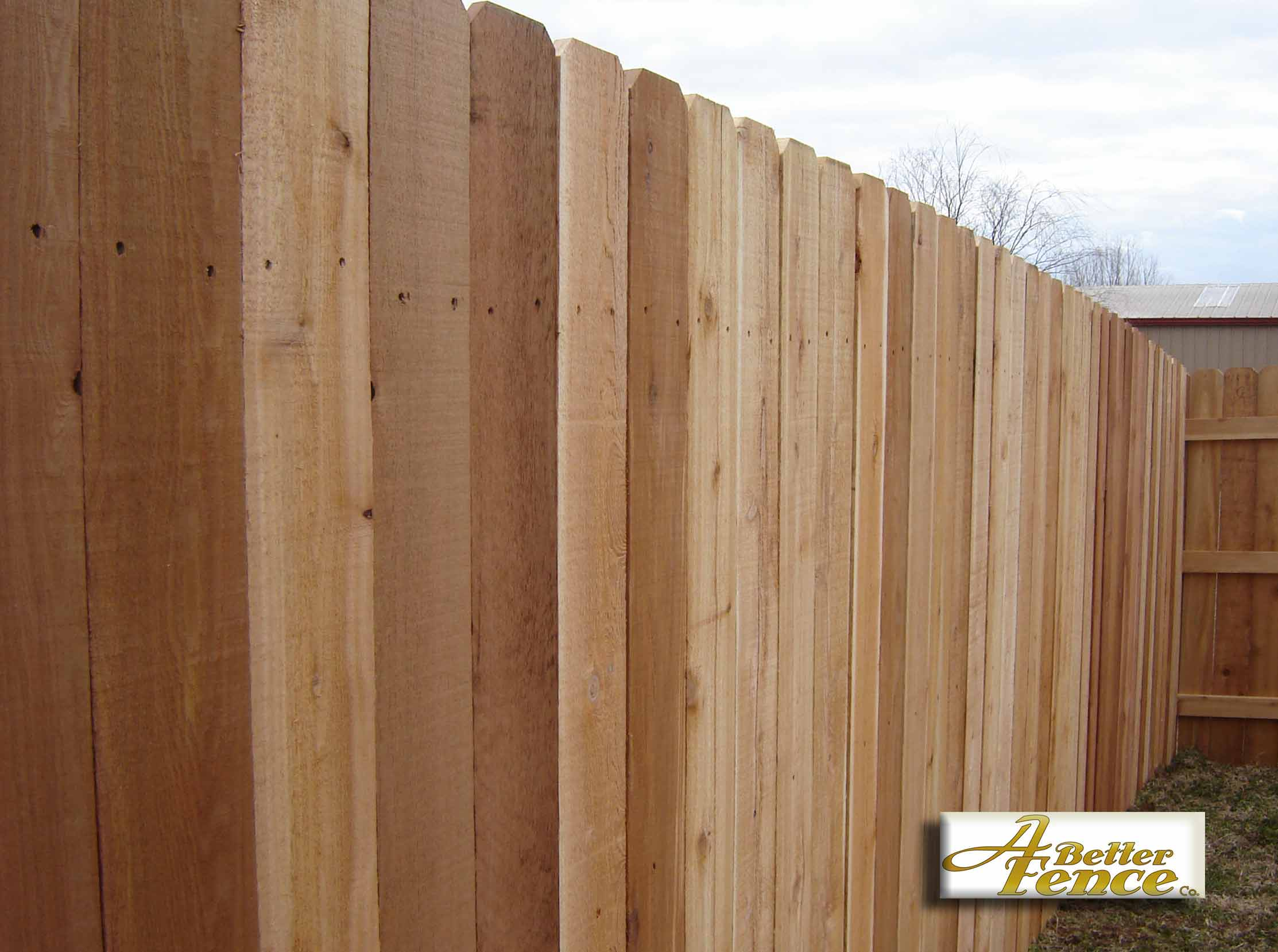 7 8 Quot X 6 Quot Solid Board Western Red Cedar Privacy Fence
