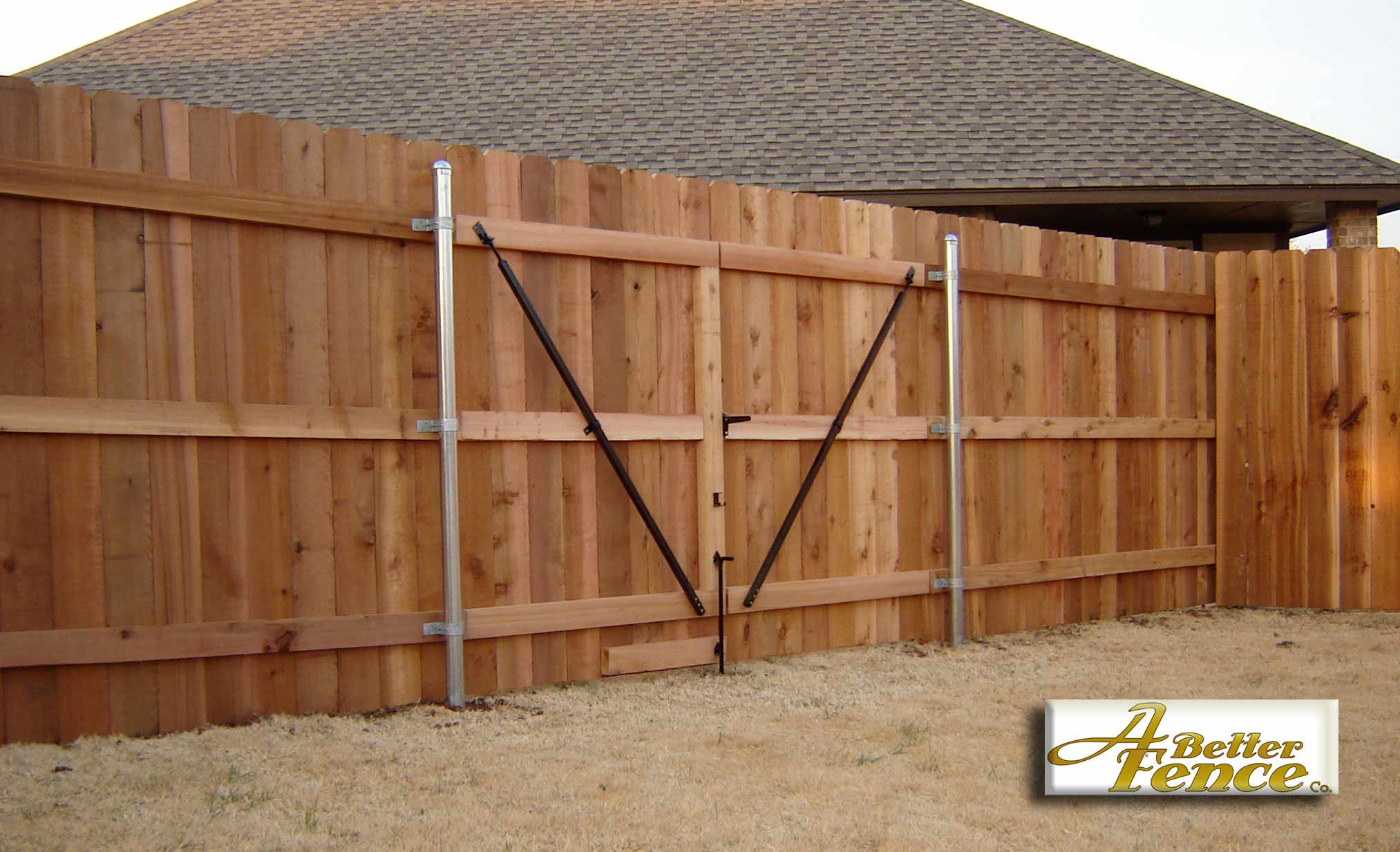 How To Build A Double Privacy Fence Gate Plans Diy Free