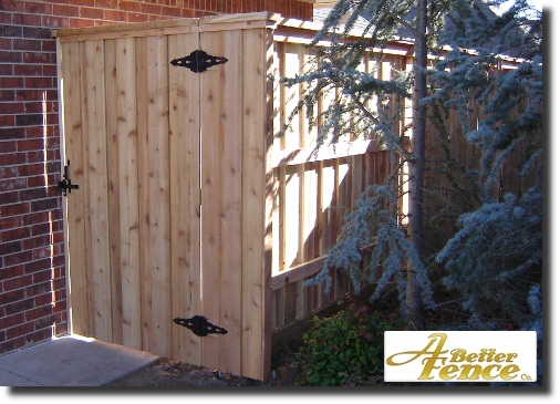 Privacy Fence Gate Plans