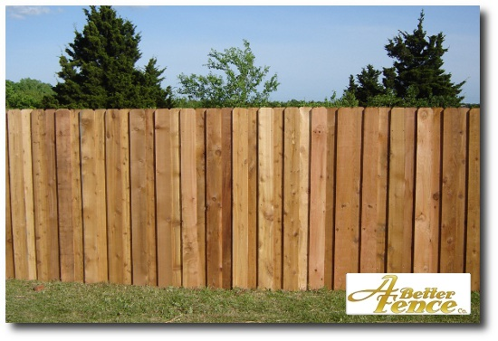 board on board cedar fencing