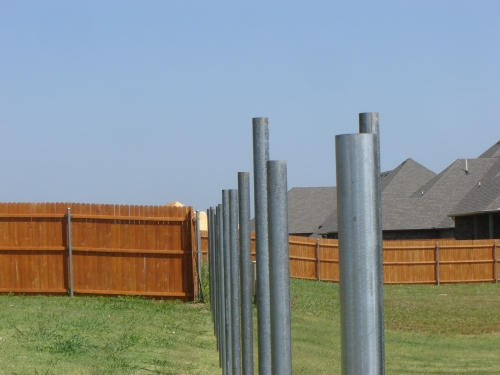 Installing Fence Posts Let Us At A Better