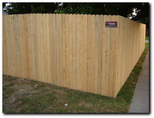 Custom Wood Fence Cedar Fence Norman, OK Tiller Fence and Deck