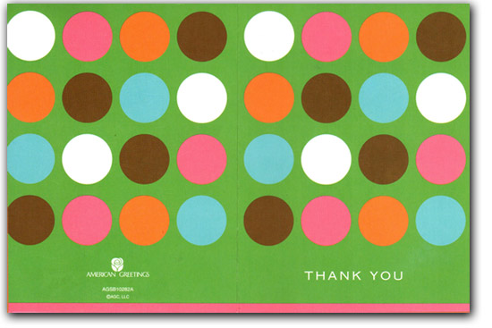 Mitchell's fence thank you card review