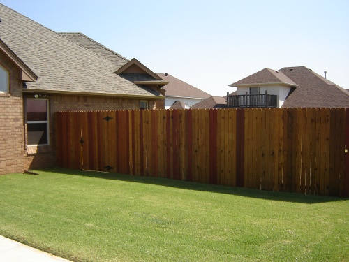 Privacy fence pictures cedar 6' foot dog ear