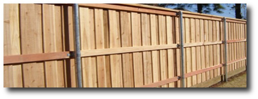 Wooden fence designs privacy fence designs decorative privacy fence a board on board type with full trim workwithnaturefo