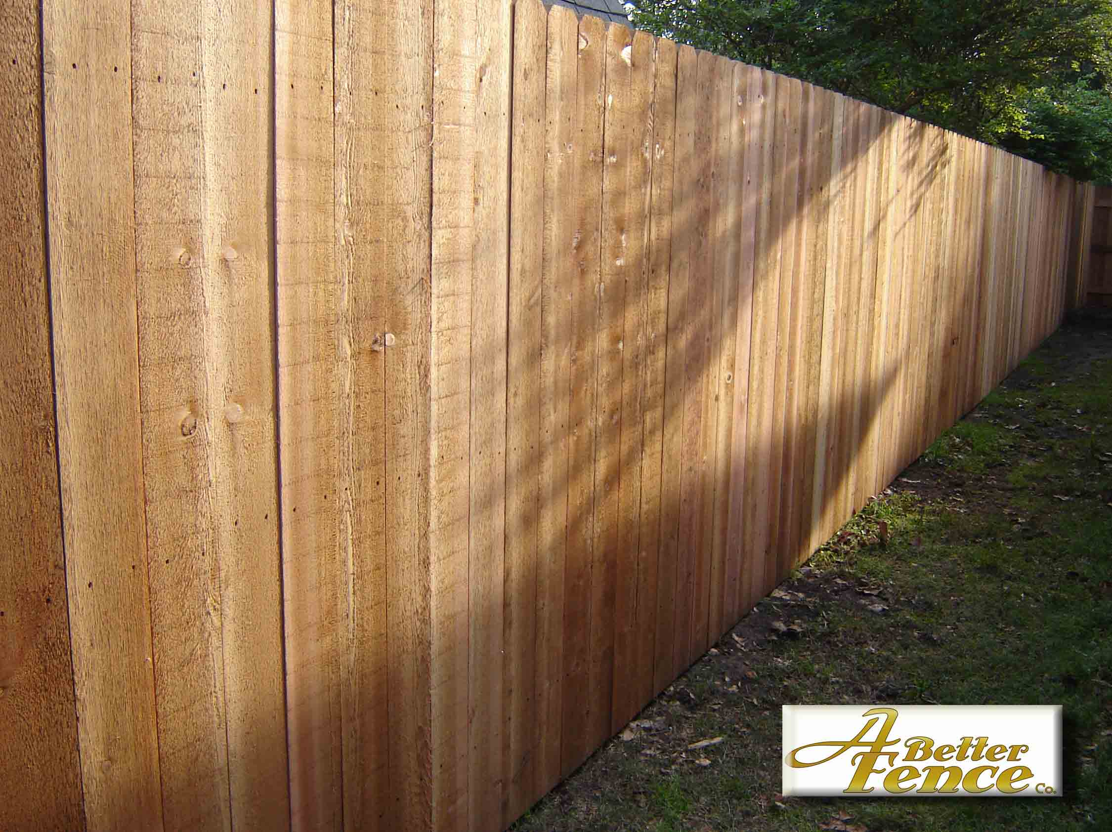 5 8 Quot X 6 Quot Solid Board Western Red Cedar Privacy Fence