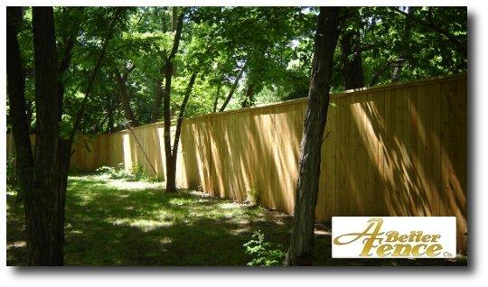 The accompaniment trim is cedar 2x6 top cap and 1x2 cedar trim piece.
