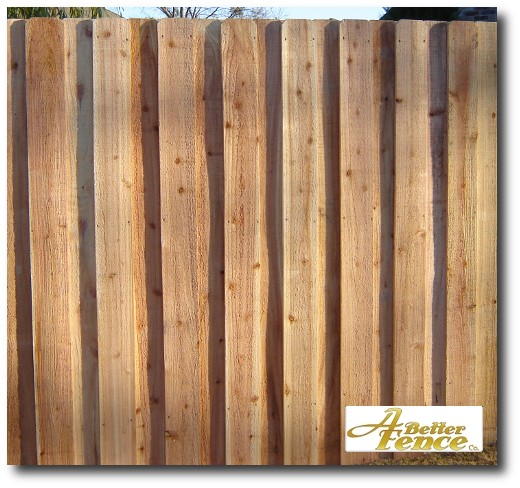 Decorative Absolute privacy fence, 6